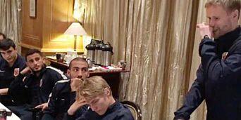 image: Se Tom Høglis rørende avskjedstale til landslaget