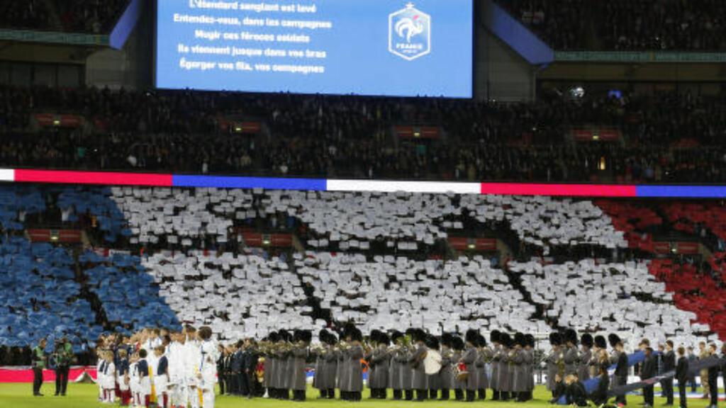 HYLLEST: På Wembley. Foto: Reuters / Carl Recine