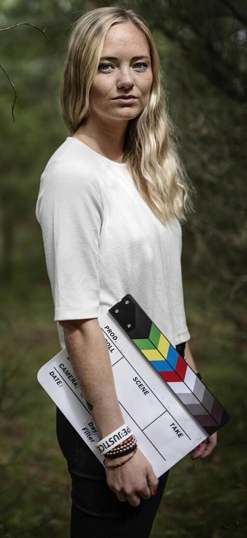 HJERTESAKER: Emilie vil lage film om «samfunnsproblemer som får folk til å tenke».