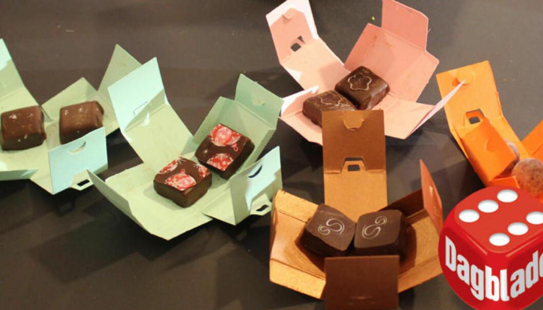 <strong>BEST I TEST:</strong> Sverre Sætres sjokoladekalender var en soleklar vinner.