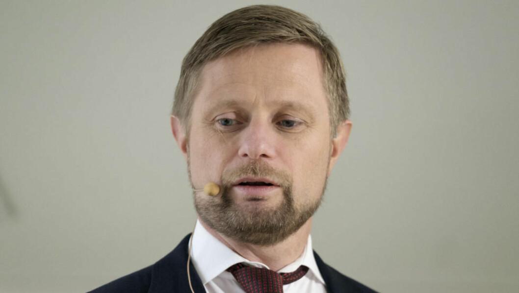 <strong> HELSEPLAN:</strong>  Helseminister Bent Høie la i dag fram den nye nasjonale helse- og sykehusplanen. Foto: Scanpix