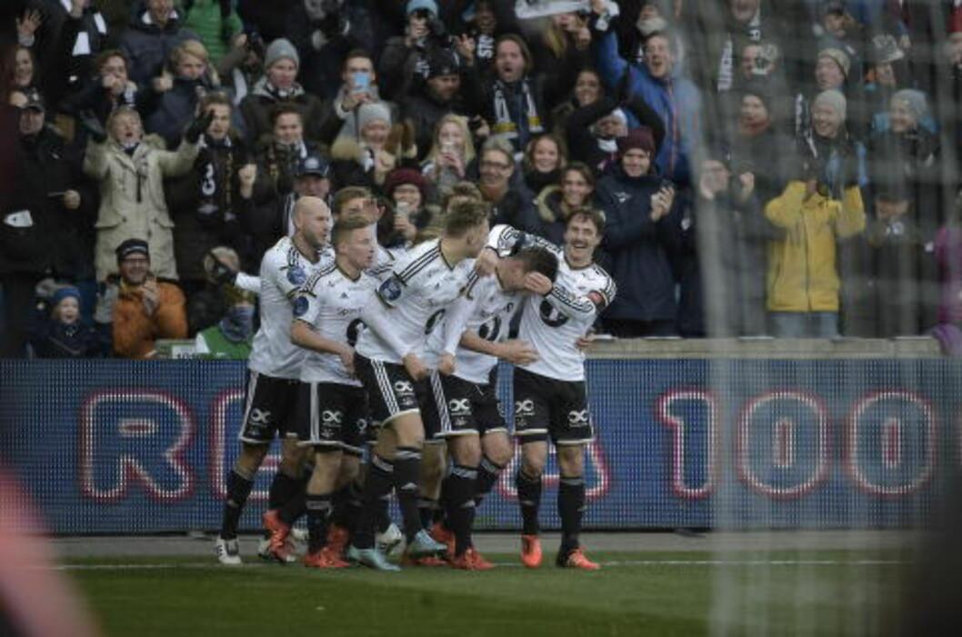 <strong>CUPMESTERE 2015:</strong>  Rosenborg Ballklubb. Foto: Hans Arne Vedlog