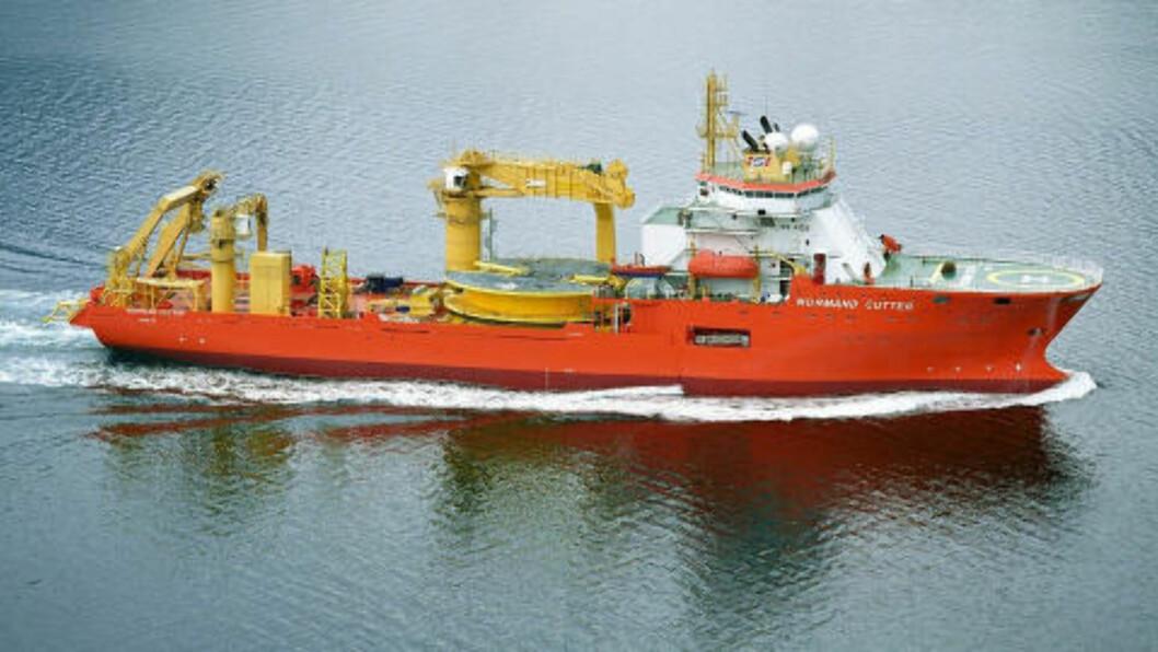 NORSK:  Norman Cutter eies av rederiet Solvang, og brukes til bygg og vedlikehold av oljeinstalasjoner.