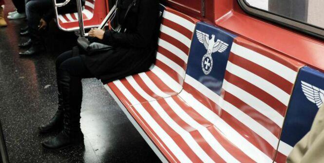 image: Trekker reklame med nazi-symboler