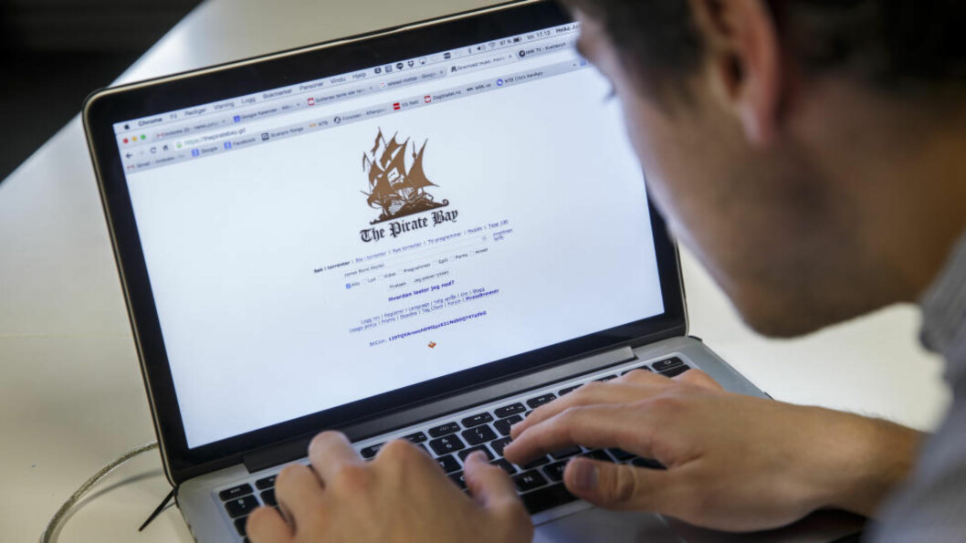 BLE STENGT I NORGE: Nettstedet Pirate Bay ble blokkert i Norge etter at norsk filmbransje sammen med de største, internasjonale produsentselskapene saksøkte flere norske internettleverandører og piratnettsteder. Foto: Heiko Junge / NTB scanpix