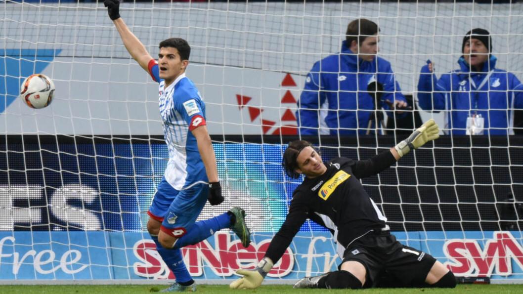 <strong>TILBAKE:</strong> Tarik Elyounoussi startet sin første kamp siden mai da Hoffenheim kastet bort seieren mot Borussia Mönchengladbach. Foto: NTB Scanpix