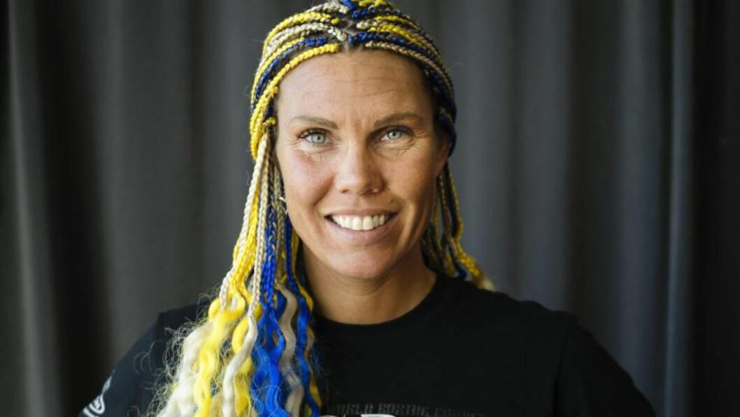 <strong>KLAR:</strong> Svenske Mikaela Laurén tapte så det sang da hun møtte Cecilia Brækhus i ringen i 2010. Nå er hun klar for omkamp. Foto: Vilhelm Stokstad / TT / NTB Scanpix