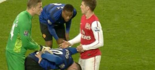 Lindegaard kan bli straffet for sitt frekke svar til Rooney