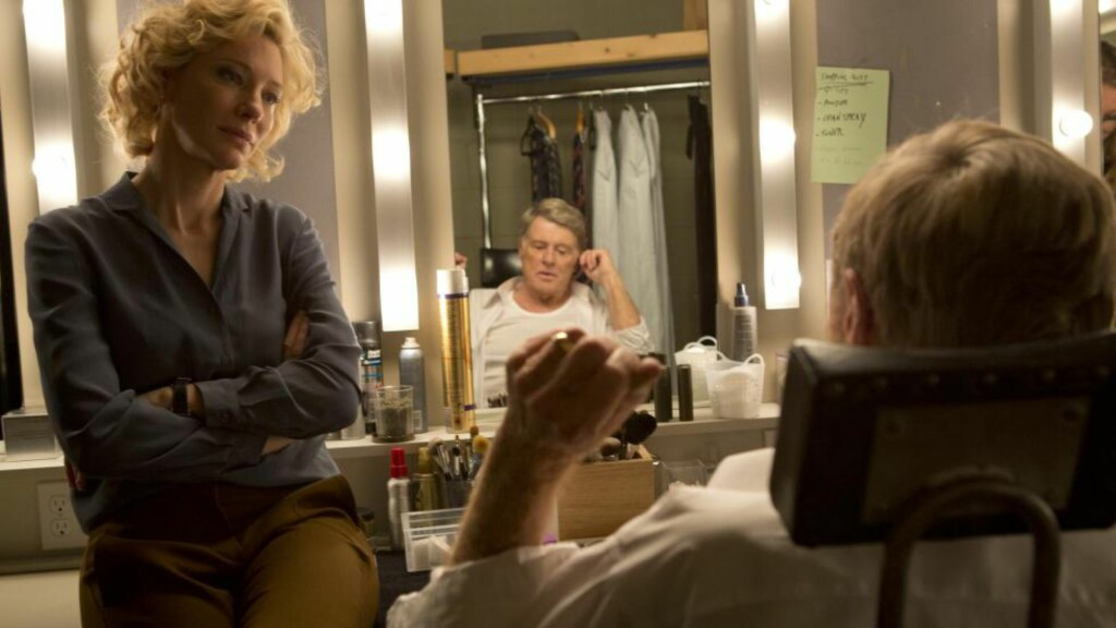 JOURNALIST-PARHESTER: Cate Blanchett som Mary Mapes og Robert Redford som Dan Rather i «Truth».