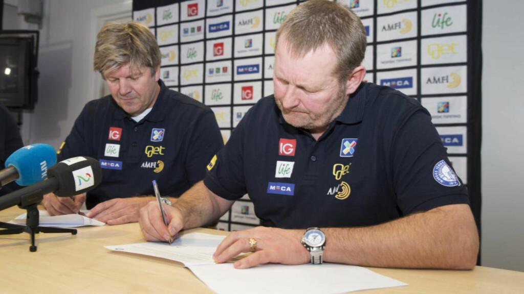NY LANDSLAGSSJEF: Petter Thoresen blir ny landslagssjef i ishockey fra 1. juni. Foto: Håkon Mosvold Larsen / NTB scanpix