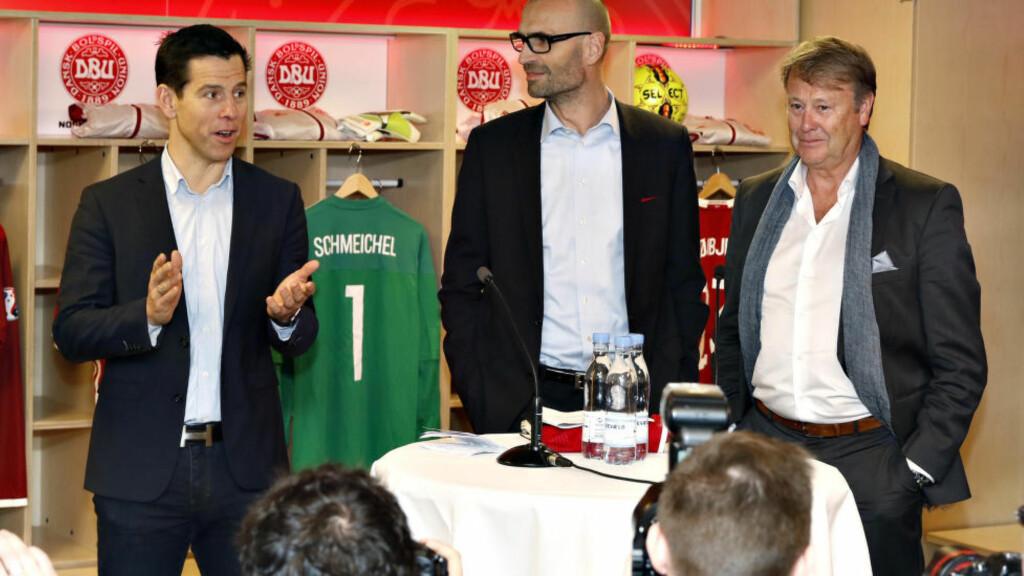 NY SJEF: Åge Hareide er Danmarks nye landslagssjef. Foto: NTB Scanpix