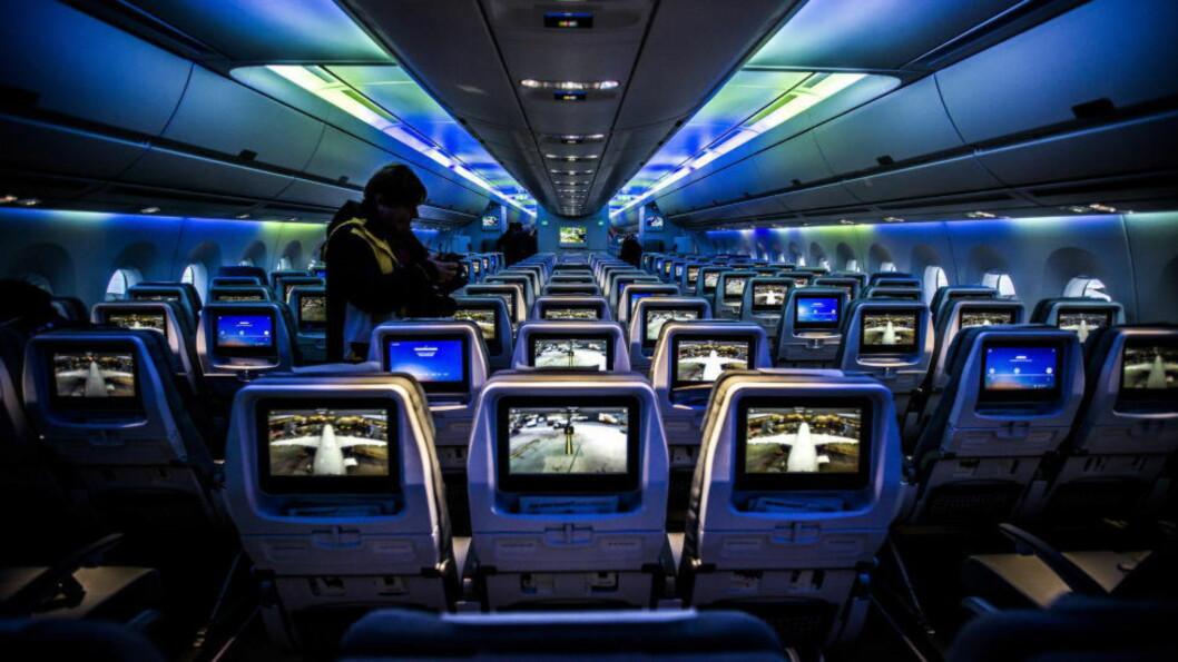 80 KRONER: Stortinget vedtok mandag å innføre flyseteavgift på 80 kroner pluss moms fra neste år. Foto: Halvor Solhjem Njerve / Dagbladet