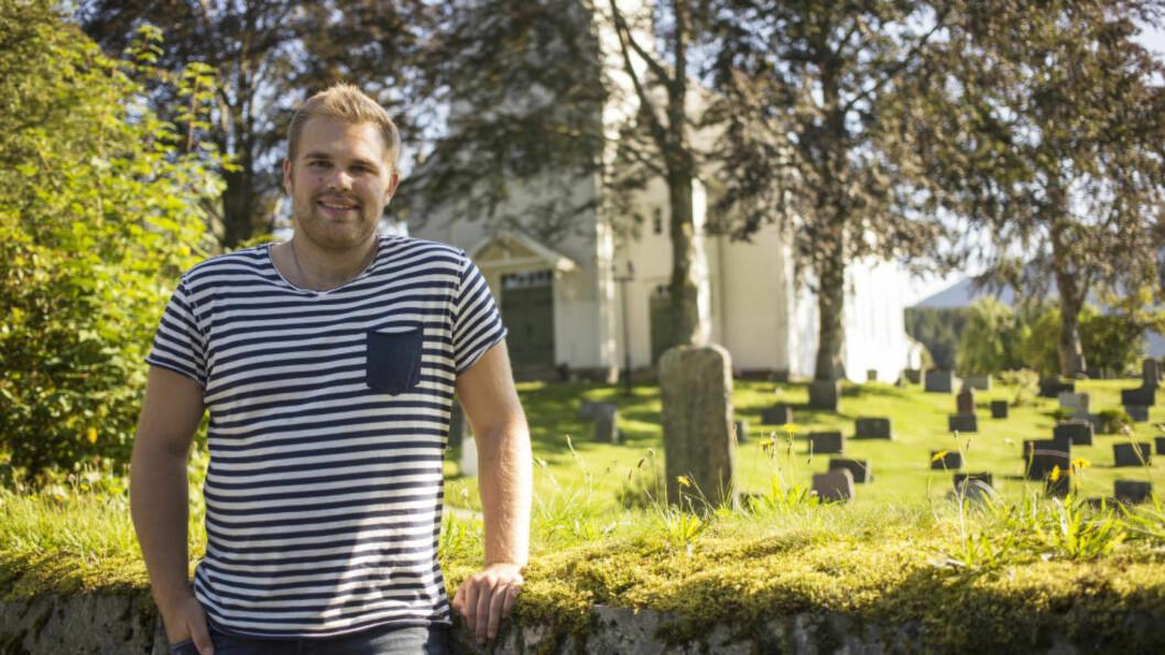 <strong> BLE SATT OPP KIRKEVALGLISTE:</strong> Jostein Vedvik fra Førde googlet seg selv og fant ut han sto på kirkevalgliste i Mo i Rana. Foto: Josef Benoni Ness Tveit