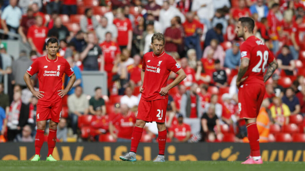<strong> USIKKER:</strong>   Lucas Leiva.  Foto: NTB Scanpix