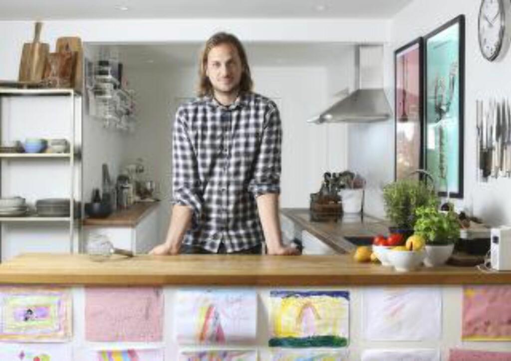 KJØTTMANN: Matblogger Espen Nersveen er ikke populær blant veganere, men det koker på bloggen i ribbetider. Foto:NTB SCANPIX