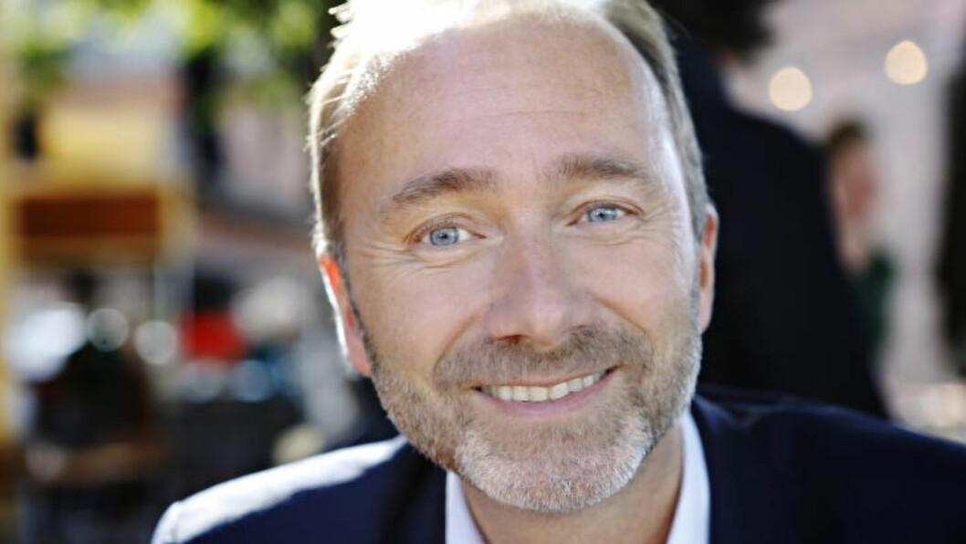 <strong>ELSKER VALGKAMP:</strong> Det beste med valgkamp er å treffe mennesker, sier Trond Giske, som elsker valgkamp. Foto: Frank Karlsen / Dagbladet