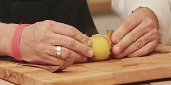 image: Smart potettriks: Skjær, kok, dra