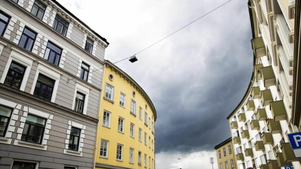 Grå skyer:  Statens pensjonskasse opplever kundeflukt som følge av lavere utlånsrenter i bankene. Foto: Magnus Rørvik Skjølberg/FA