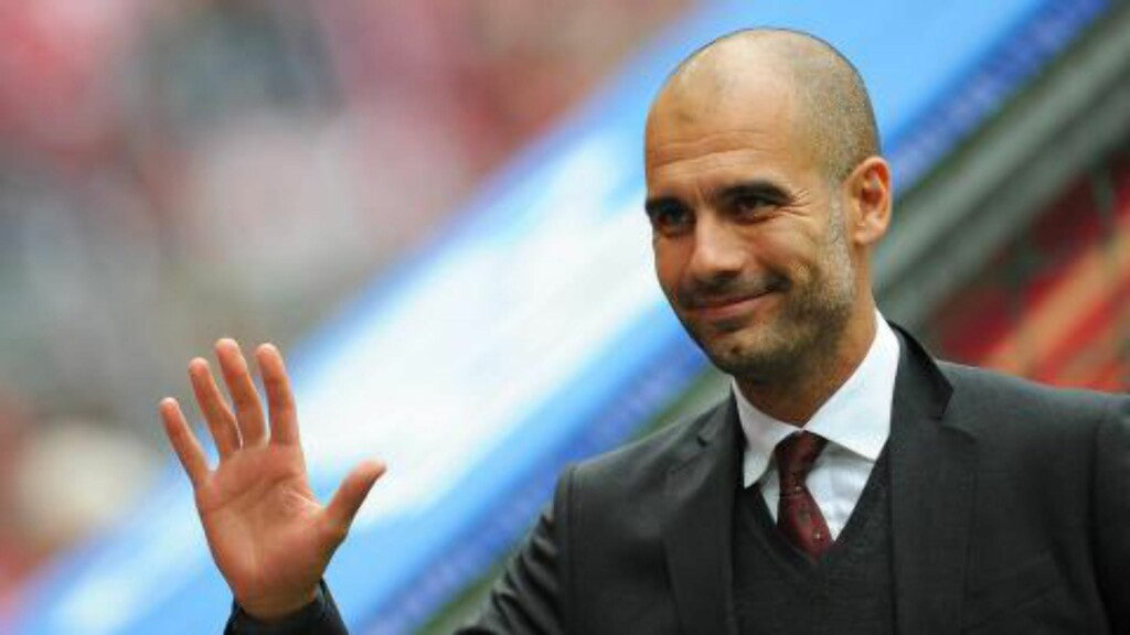 UNITED-AKTUELL?: Pep Guardiola. Foto: EPA/ANDREAS GEBERT