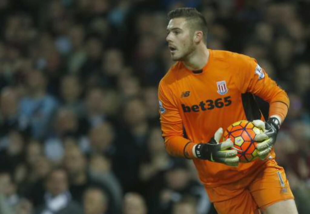 KEEPER: Jack Butland. Foto: Jason Mitchell/IPS/NTB Scanpix