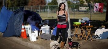 Filmbyen har fått et nytt kallenavn: De hjemløses hovedstad