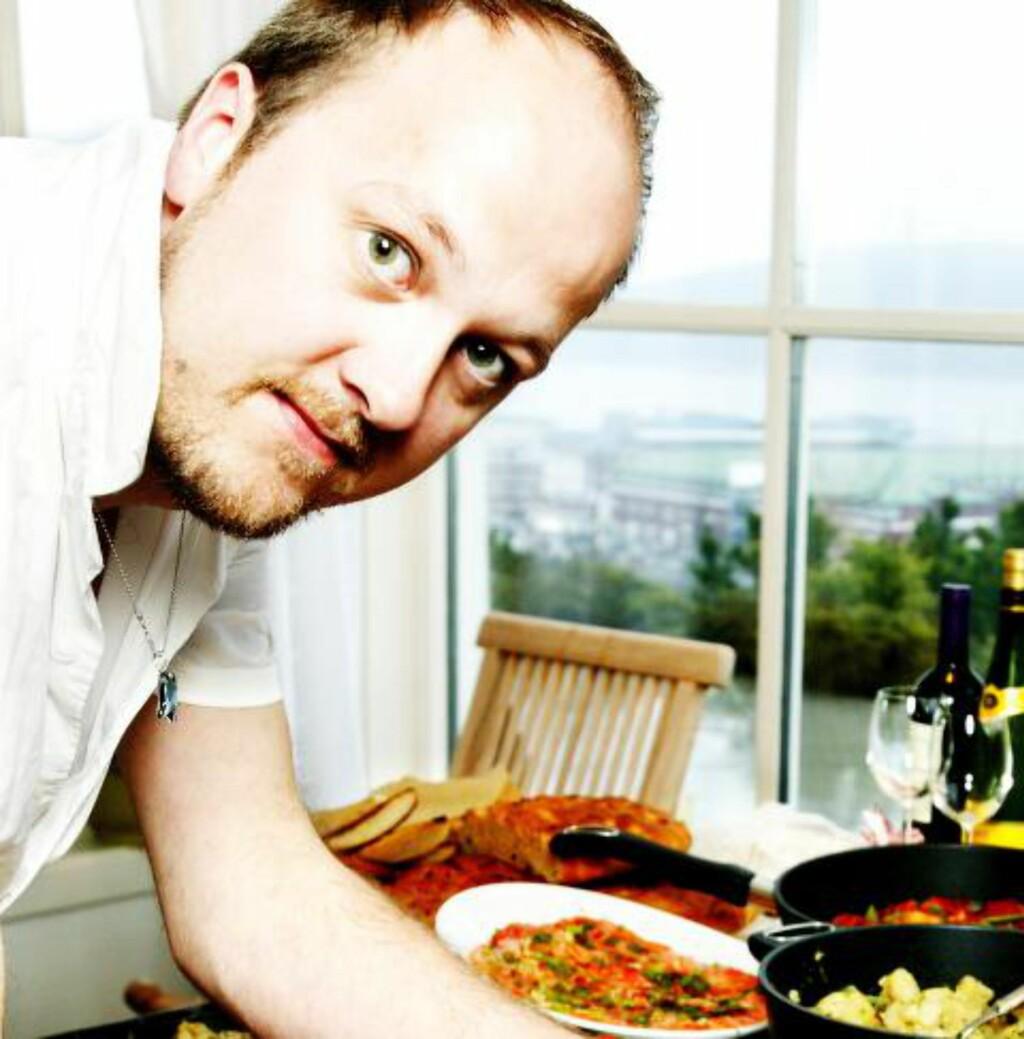SUPPEFAN: For Trond Moi er supper som fyr i peisen. Foto: METTE MØLLER/DAGBLADET