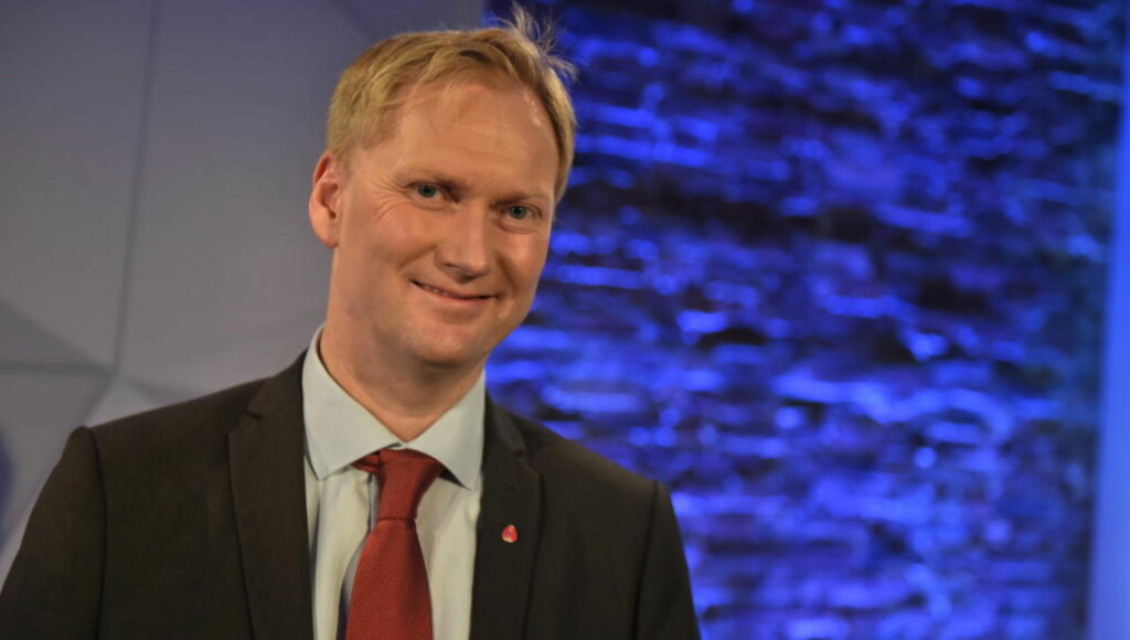 STERKE TALL: Harald Schjelderup kan bli ny byrådsleder i Bergen om forhåndsstemmene blir valgresultatet.  Foto: Øistein Norum Monsen / Dagbladet