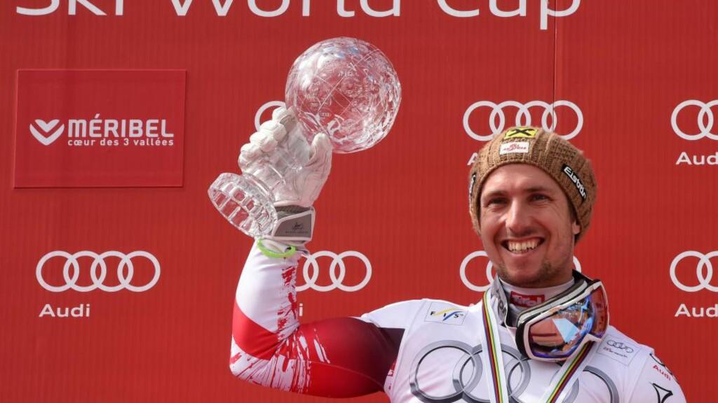 GIR TILBAKE: Marcel Hirscher mener det er viktig å gi tilbake til det østerrikske skiforbundet. Foto: AFP PHOTO / PHILIPPE DESMAZES