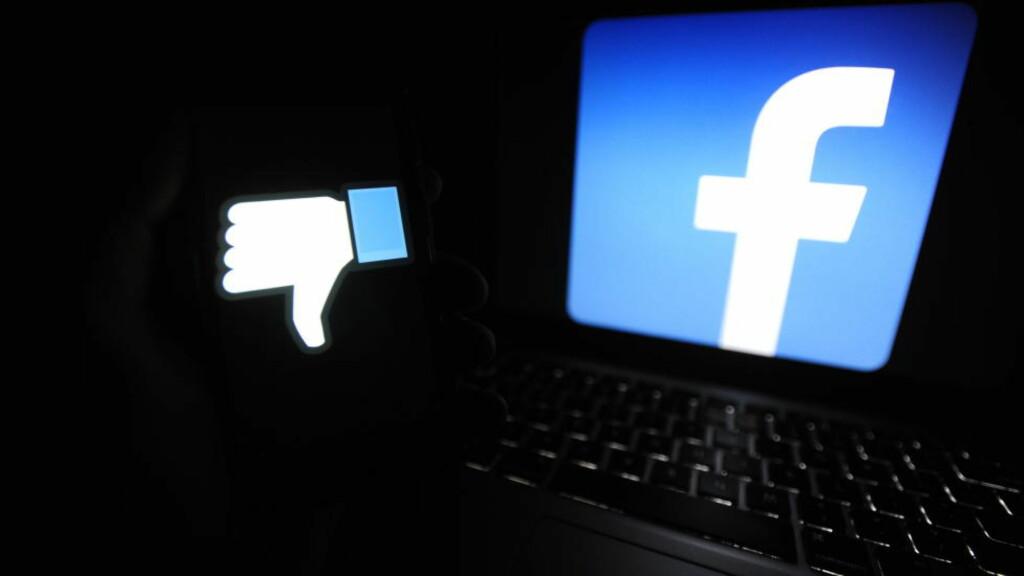 LIKER, LIKER IKKE: Facebook jobber nå med å utvikle en motsats til den populære «liker»-knappen. Foto: Alex Milan Tracy / Sipa USA