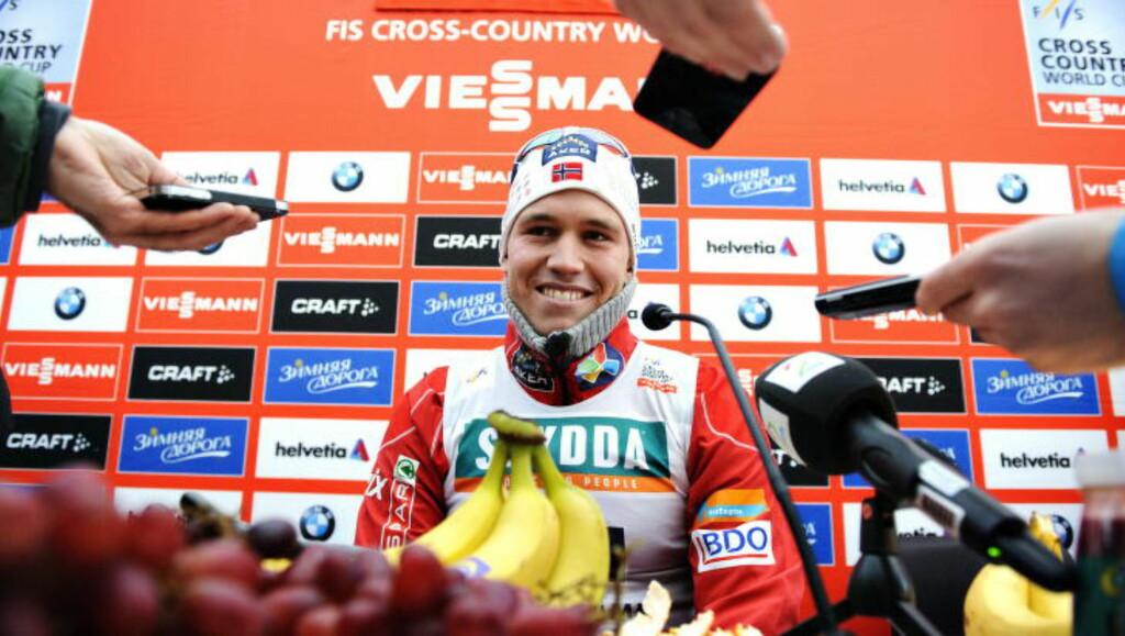 STØTTER SKIFORBUNDET: Pål Golberg mener Skiforbundet har tatt riktig standpunkt i saken med Petter Northug, men håper likevel at den norske skikongen går for Norge denne sesongen.  Foto: Sjur Stølen / Dagbladet