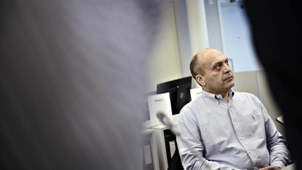 FORKLARER SEG: Gjermund Cappelen. Foto: Benjamin A. Ward / Dagbladet
