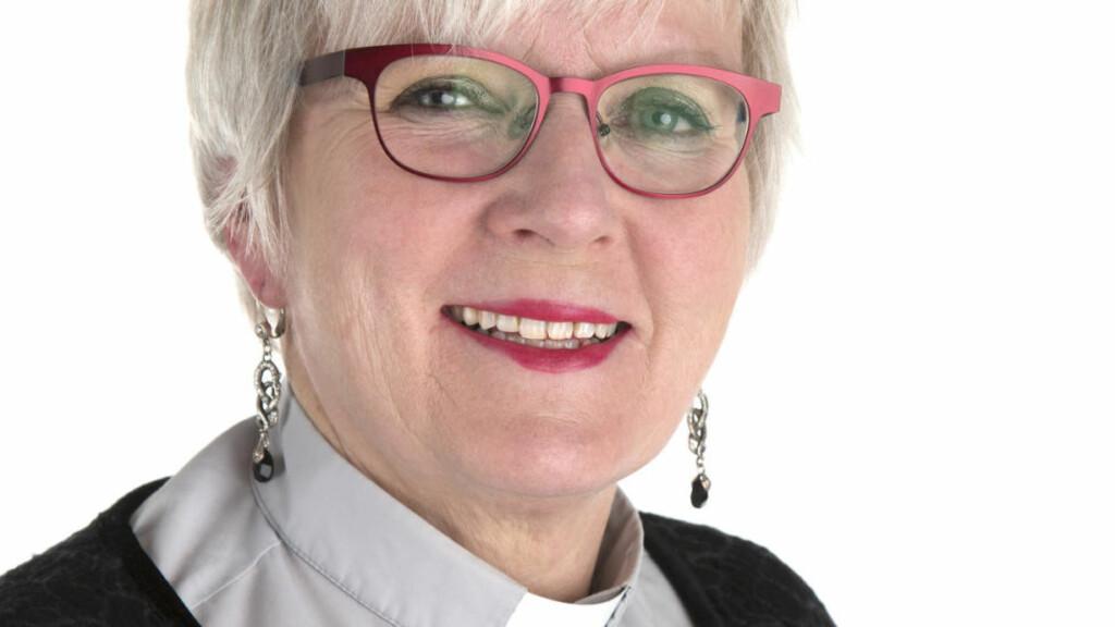 Bodø  20150406. Ann-Helen Fjeldstad Jusnes ble torsdag tilsatt som ny biskop i Sør-Hålogaland bispedømme. Foto: Knut Ivar Johansen / Den norske kirke / NTB scanpix