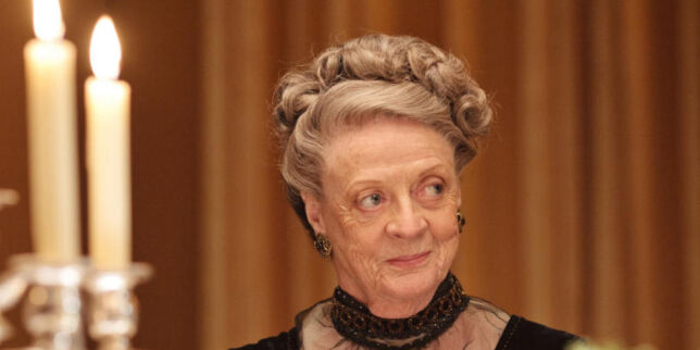 image: Maggie Smith (81) røper «Downton Abbey»-juks