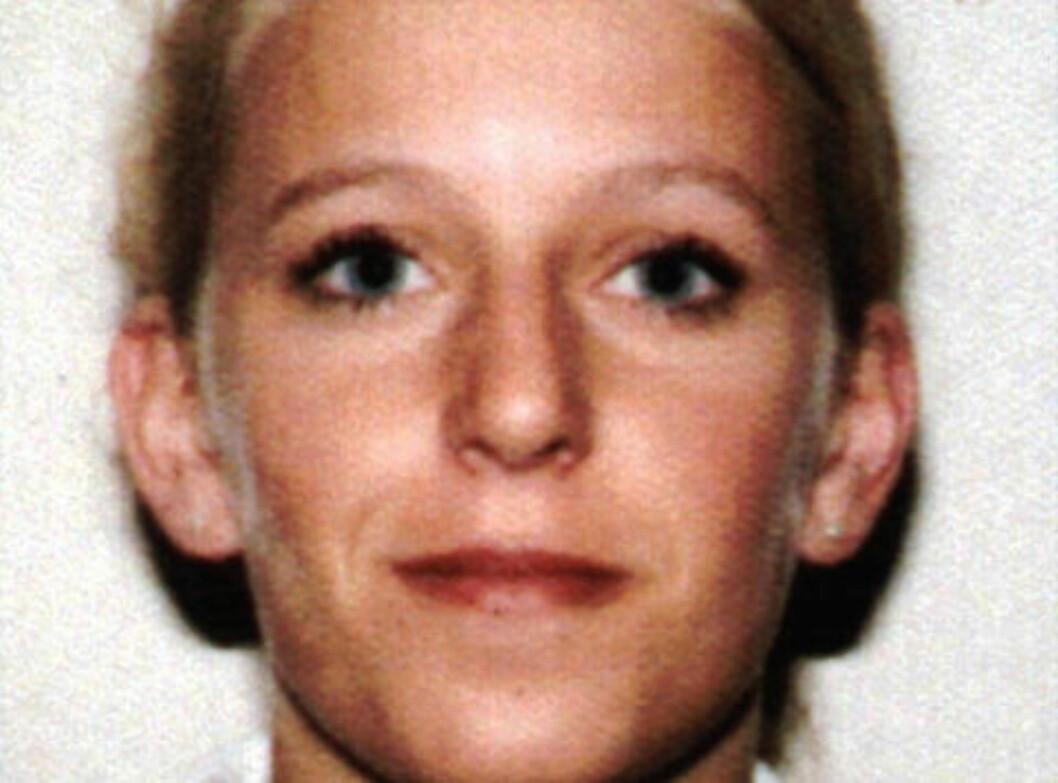 <strong> DREPT:</strong>  Tina Jørgensen forsvant 24. september 2000. Hun ble funnet død en drøy måned senere, den 26. oktober. Arkivfoto: Politiet / SCANPIX