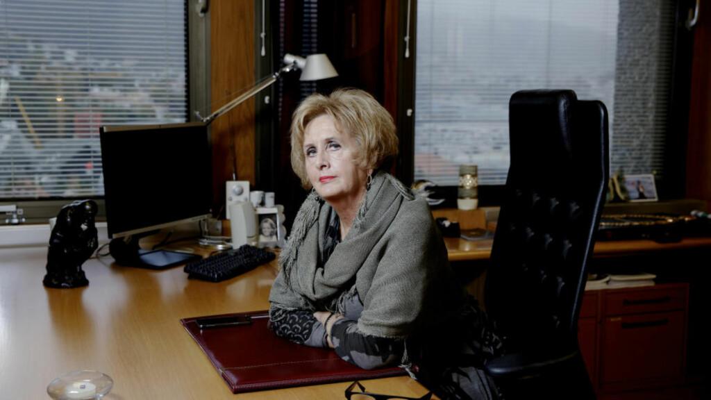 KORRUPSJONSSIKTET: Trude Drevland, permittert ordfører for Høyre i Bergen, fikk i dag beskjed om at hun er siktet for korrupsjon.  Foto: Paul Sigve Amundsen / Samfoto