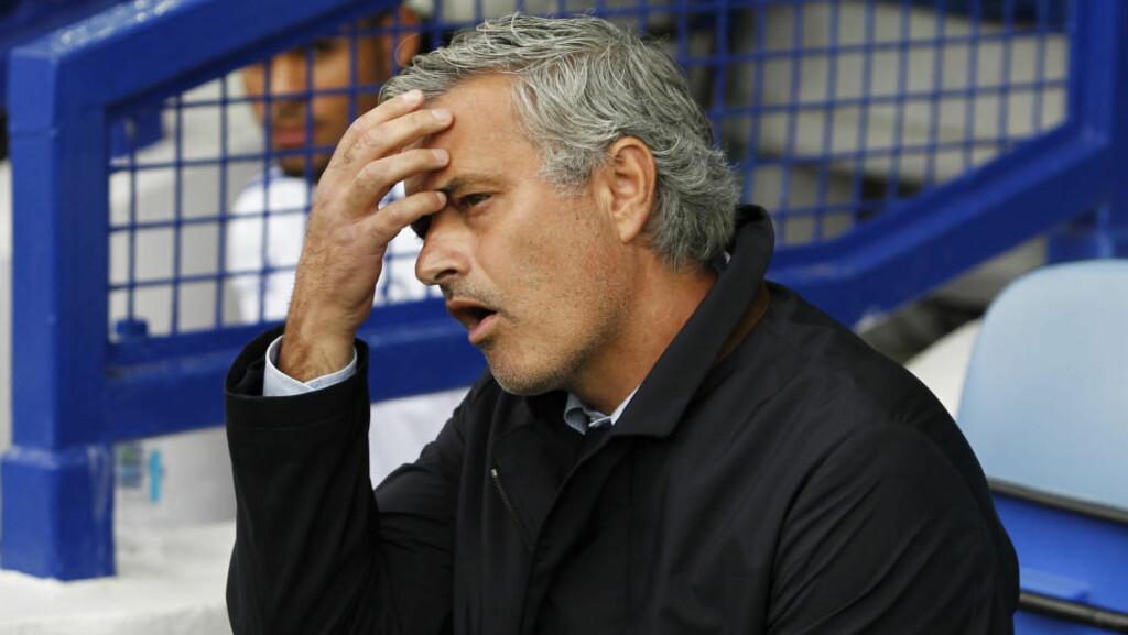 I TRØBBEL: Jose Mourinho kan ha snakket på seg ytterligere trøbbel da han skjelte ut klubblege Eva Carneiro. Foto: Action Images / Reuters / Ed Sykes / NTB Scanpix