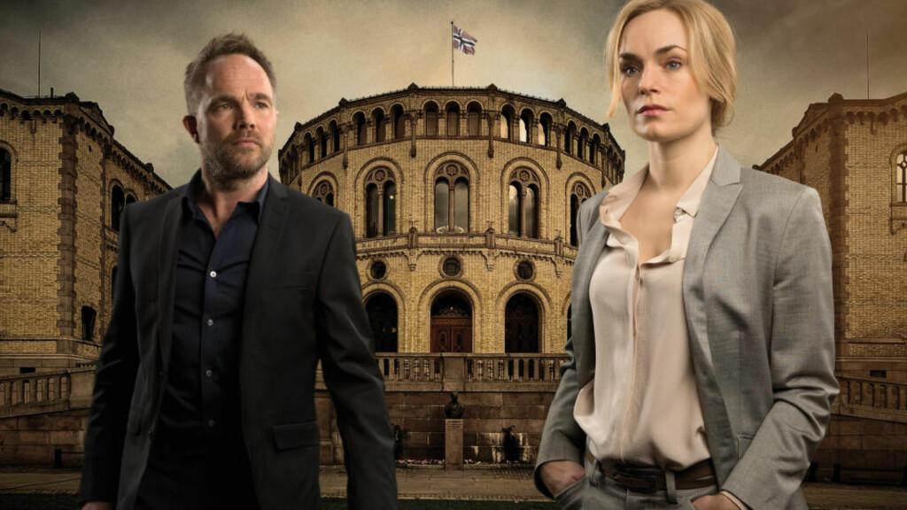 MISTET SEERE:  Gårsdagens premiere av «Mammon» har mistet 300 000 seere, sammenlignet med premieren i fjor. Foto: NRK