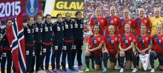 Alle disse blendahvite jentelagene svekker Norge