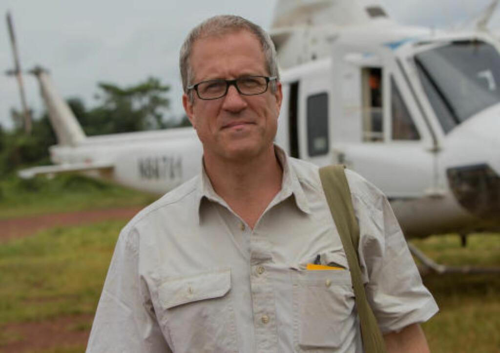 AVDEKKET: I samtaler med tidligere LRA-soldater blir antakelsen om Konys involvering i både krypskytingen av elefanter og smuglingen av elfenben bekreftet.  - De bruker elfenben i byttehandler med våpen, medsiner og mat. Det er en rekke kriminelle syndikater som er involvert i handelen, men vi ville fokusere på de som opererer i sentrale Afrika. Dette er noen av de mest voldelige og aggressive gruppene i verden, sier Christy. Foto: National Geographic