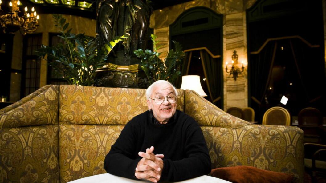 <strong>LEGENDE:</strong> Paul Bley møtte Dagbladet da han var innom Oslo Jazzfestival i 2008. I anledning hans bortgang på søndag publiserer vi intervjuet om igjen. Foto: Håkon Eikesdal