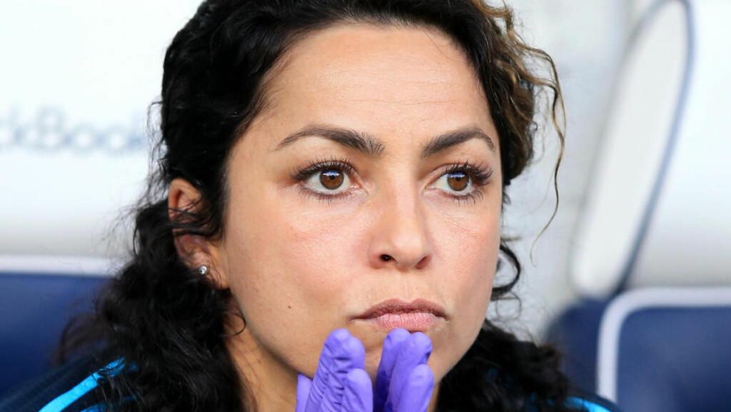PÅ KANT MED MOURINHO:  Lege Eva Carneiro. Foto: NTB Scanpix