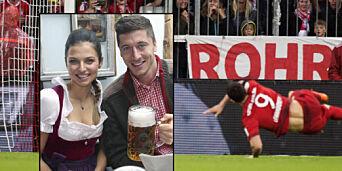 image: Lewandowski gir kona æren for drømmetreff som dette