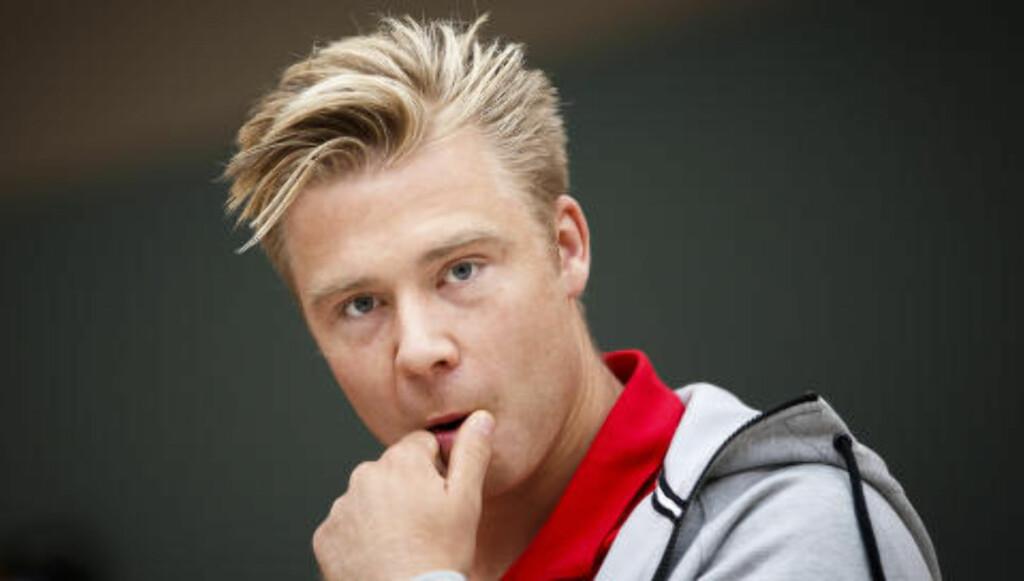 - BRUK DENNE MANNEN: Alexander Søderlund er mannen Norge må satse på, mener Kenneth Fredheim og Morten Pedersen. Foto: Heiko Junge / NTB Scanpix