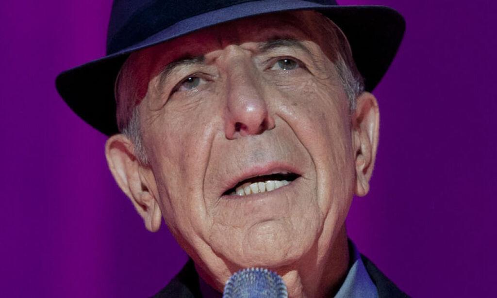 image: Leonard Cohen til Dagbladet: Angrer dødsønsket