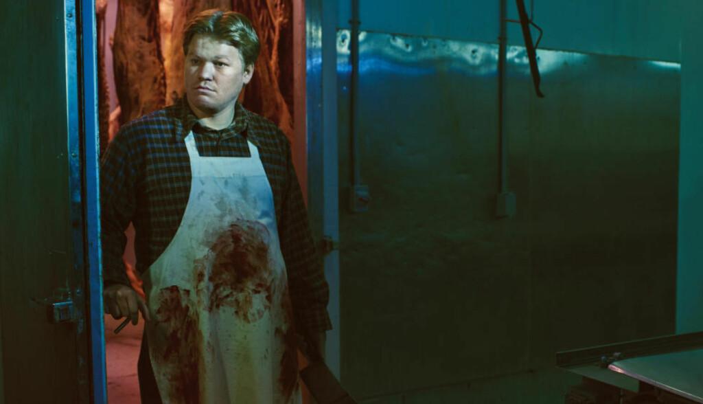 BLODIG: «Breaking Bad»-favoritten Jesse Plemons spiller en slakter som går litt for langt for kjærligheten i andre sesong av «Fargo». Foto: HBO Nordic