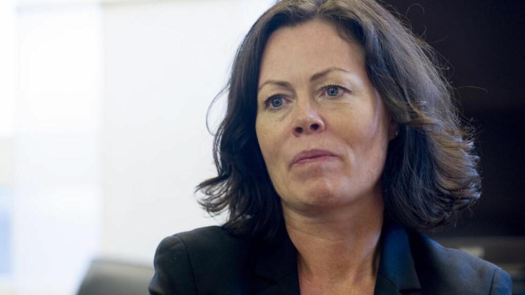 VIL STRAMME INN:  Barne-, likestillings- og inkluderingsdepartementet og minister Solveig Horne (Frp) ønsker å stramme inn reglene for samtykke til telefonssalg. Hvis høringsforslaget hennes står seg vil det trolig bli dårligere tider for arrangører av falske konkurranser på nett. Foto: Øistein Norum Monsen / DAGBLADET
