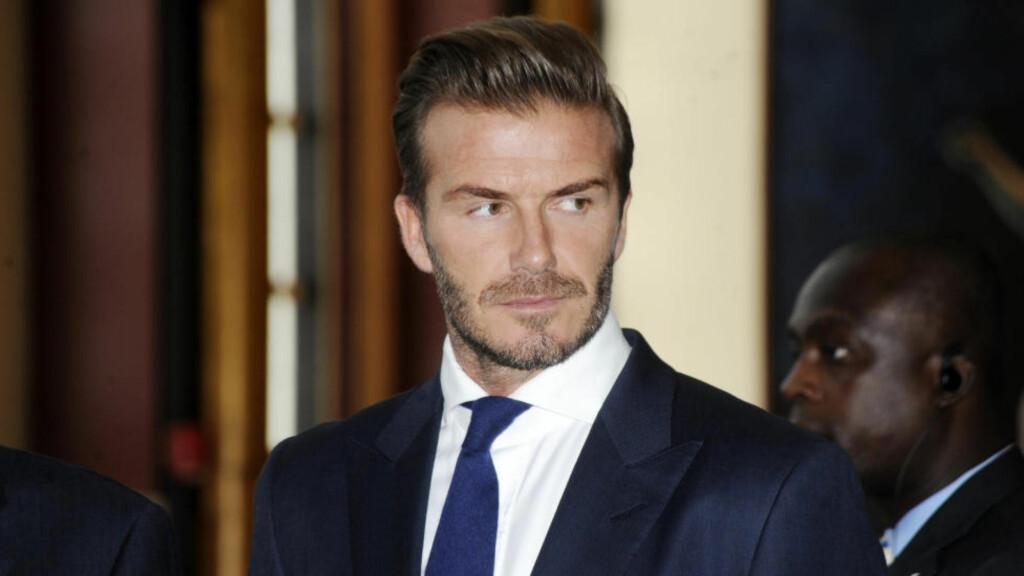 IKKE FORNÆRMET: David Beckham er enig med Alex Ferguson i at han ikke var en verdensklassespiller. Foto: Dennis Van Tine/Future Image/WENN.com