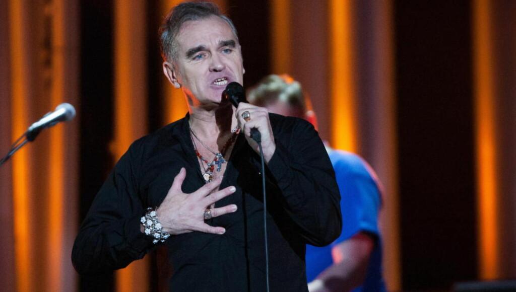 KRITISERES: Morrissey har oppnådd mye som musiker, men forfatteren Morrissey gjør ingen stor suksess. Foto: Tommy Arnesen /Dagbladet