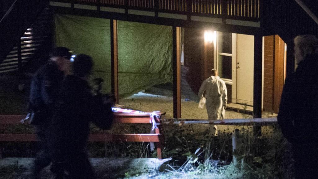 KVINNE FRUNNET DREPT:  En mann i 20-åra ble i går kveld pågrepet etter en kvinne ble funnet drept på Melhus i Sør-Trøndelag. Foto: Ned Alley / NTB scanpix