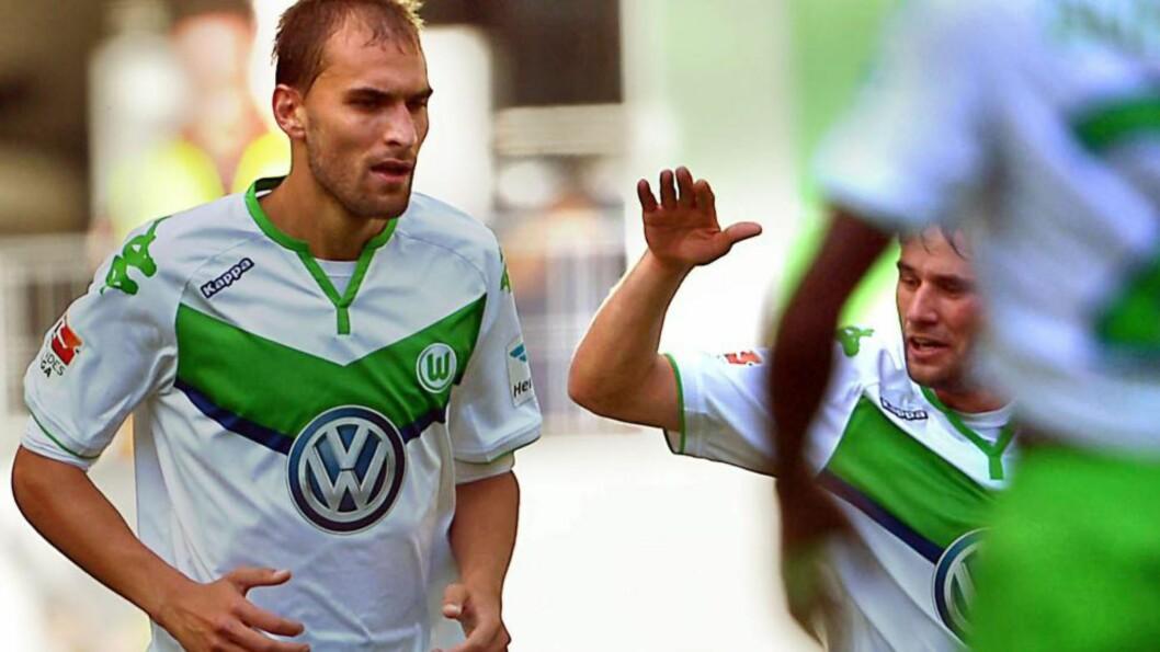KAN BLI RAMMET: Volkswagen-skandalen kan få store konsekvenser for det tyske fotballaget Wolfsburg. Fansen er spente på hva som vil skje med klubben. Foto: EPA/PETERSTEFFEN